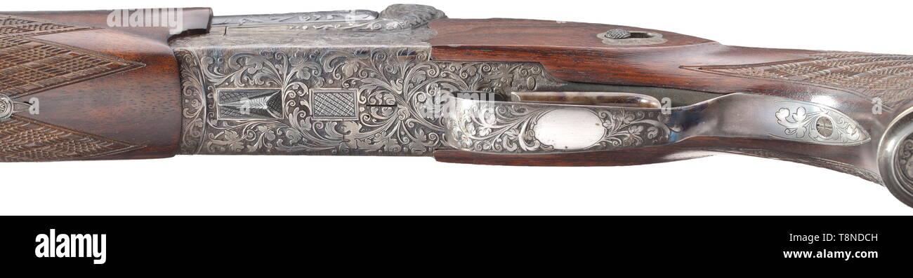 A three-barrelled combination gun Adamy brothers, Suhl Cal  20/76, 7