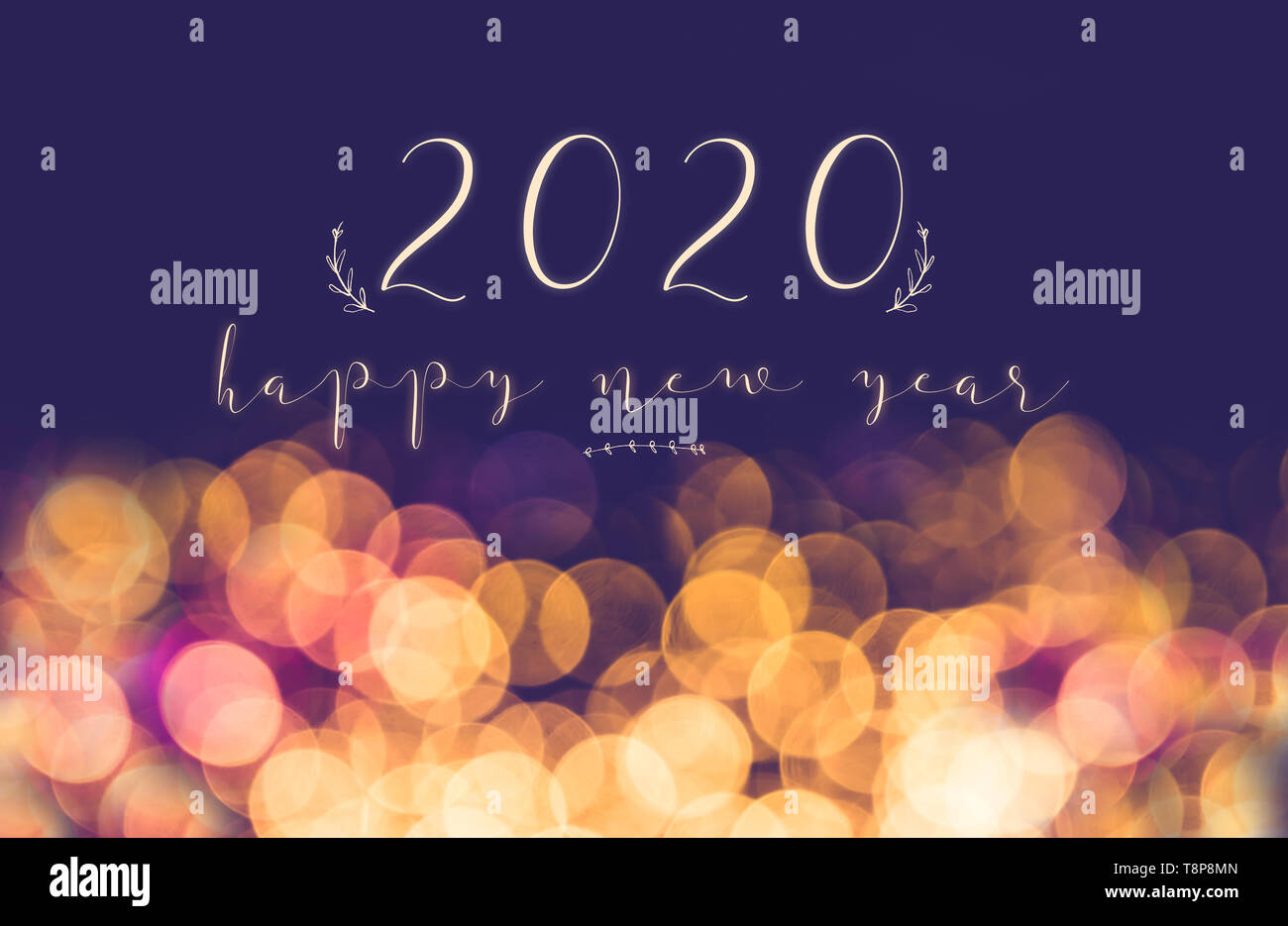 New year 2020 images with name and photo
