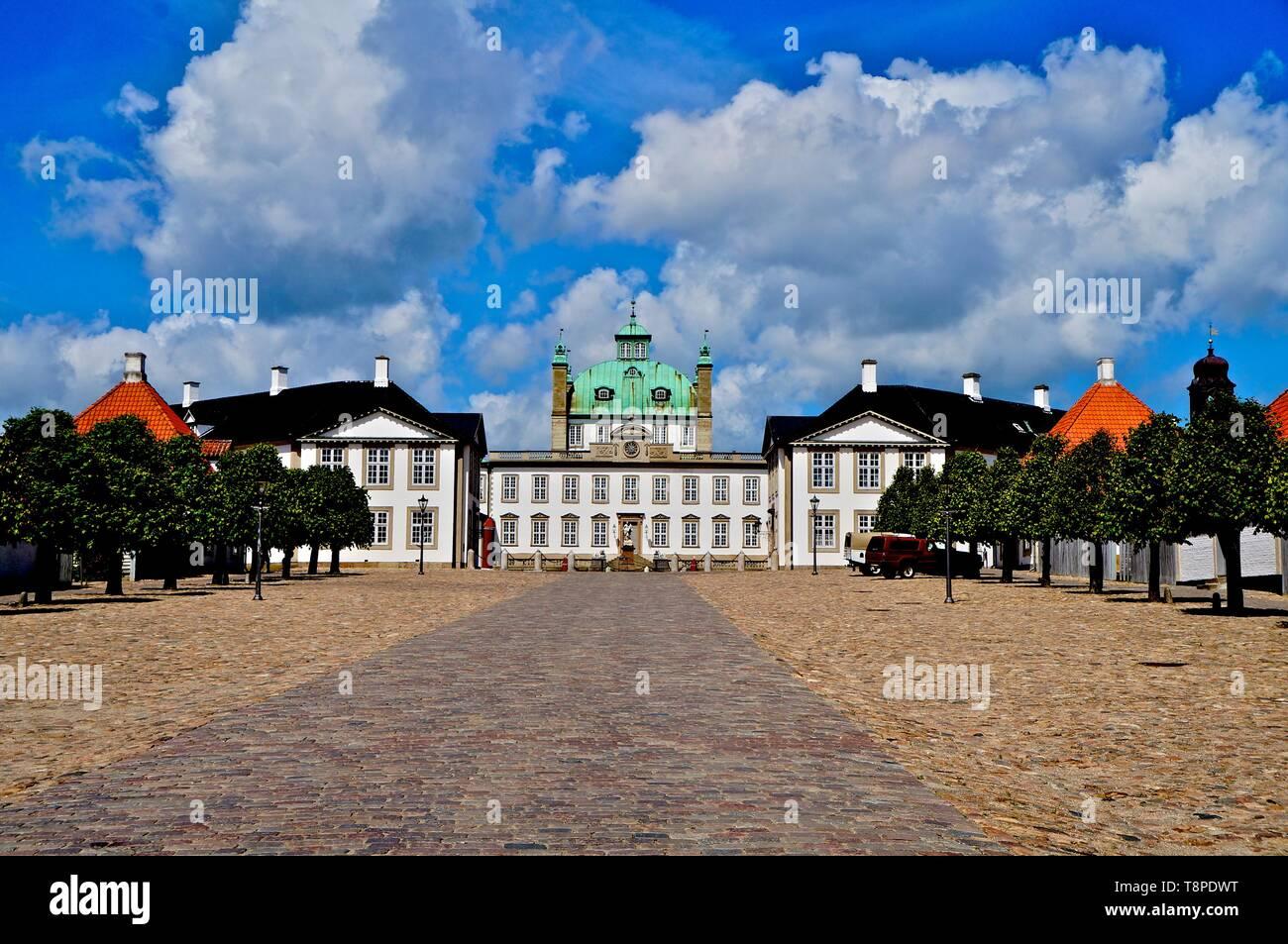 Fredensborg Castle, Hillerød, Sjælland - Stock Image