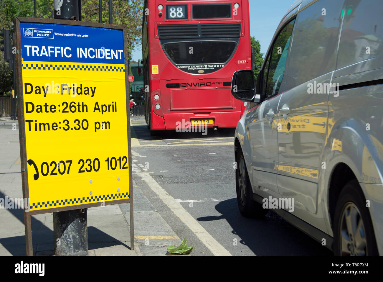 Road Traffic Incident Stock Photos & Road Traffic Incident