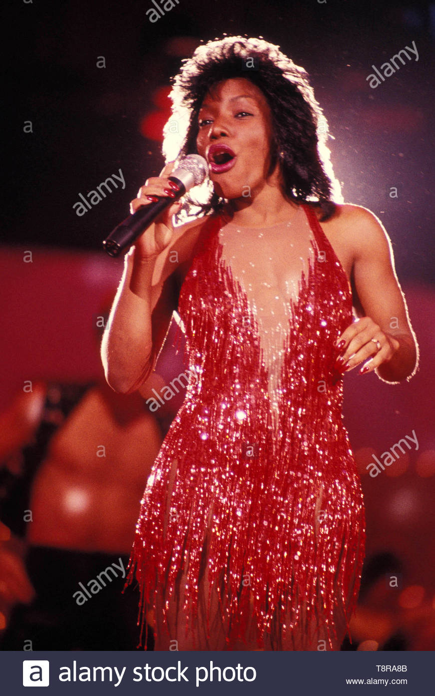 Stephanie Mills. Credit: 3835248Globe Photos/MediaPunch - Stock Image