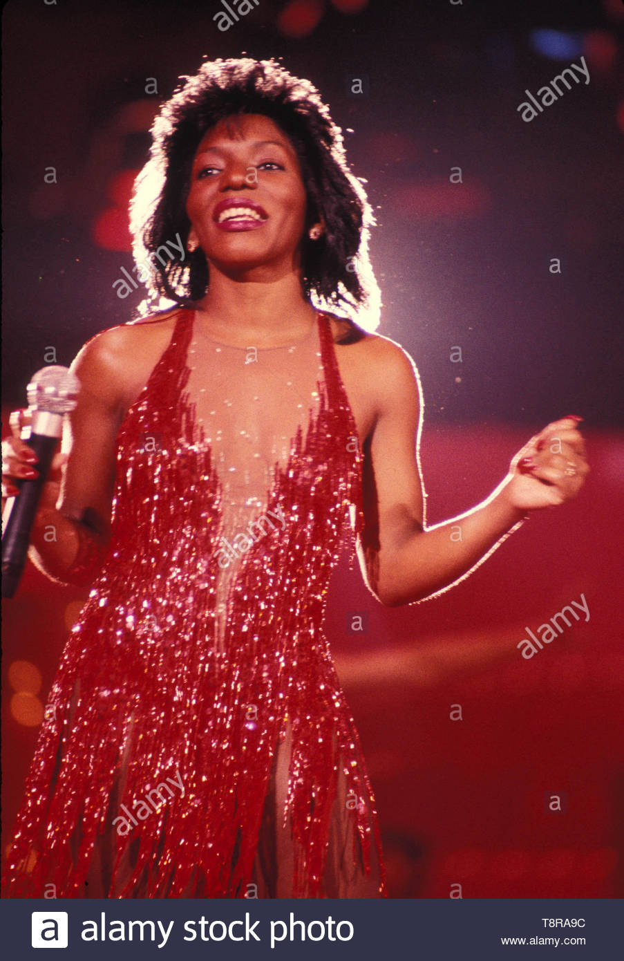 Stephanie Mills. Credit: 3835252Globe Photos/MediaPunch - Stock Image