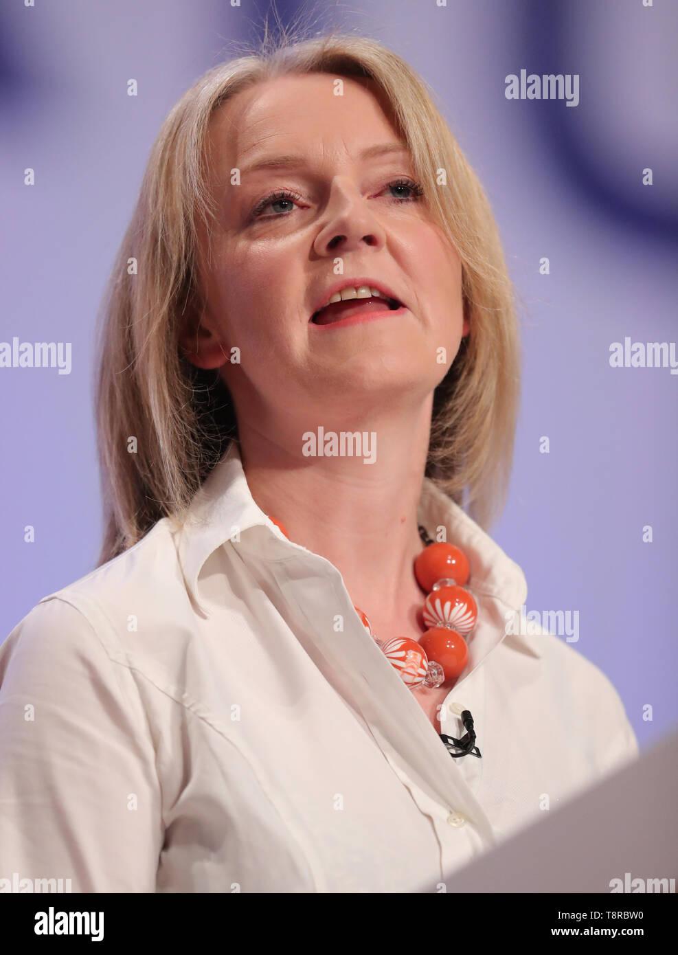 LIZ TRUSS MP, 2018 - Stock Image