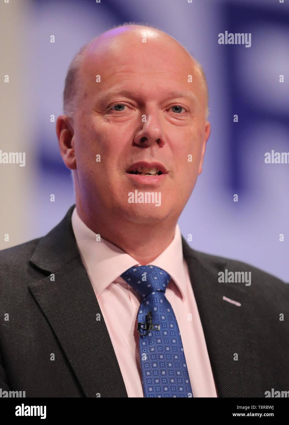 CHRIS GRAYLING MP, 2018 - Stock Image