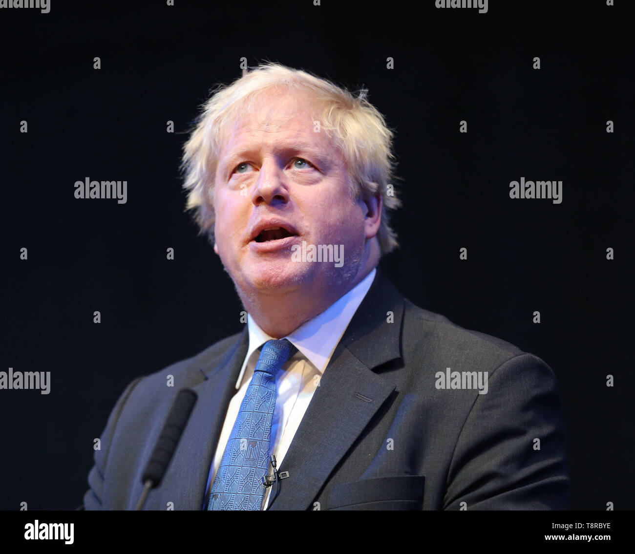 BORIS JOHNSON 2018 - Stock Image