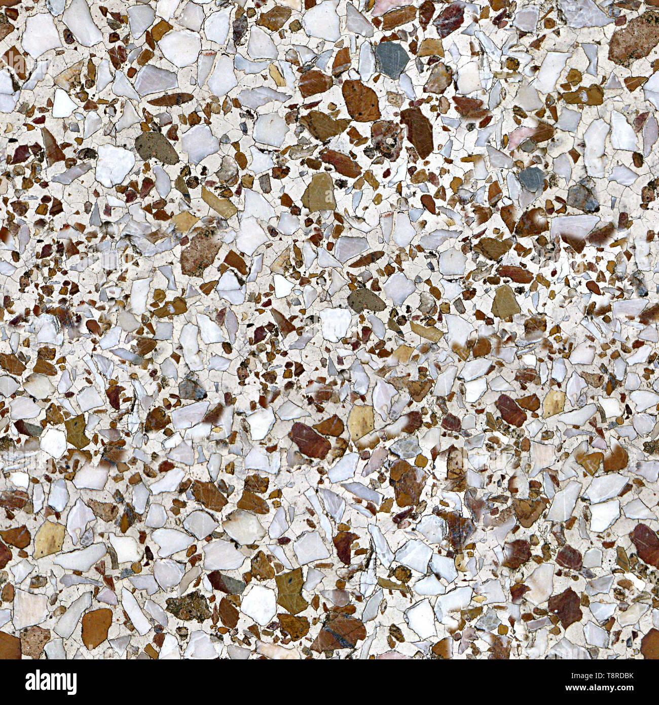 Terrazzo Floor Seamless Texture Tile Stock Photo 246377815