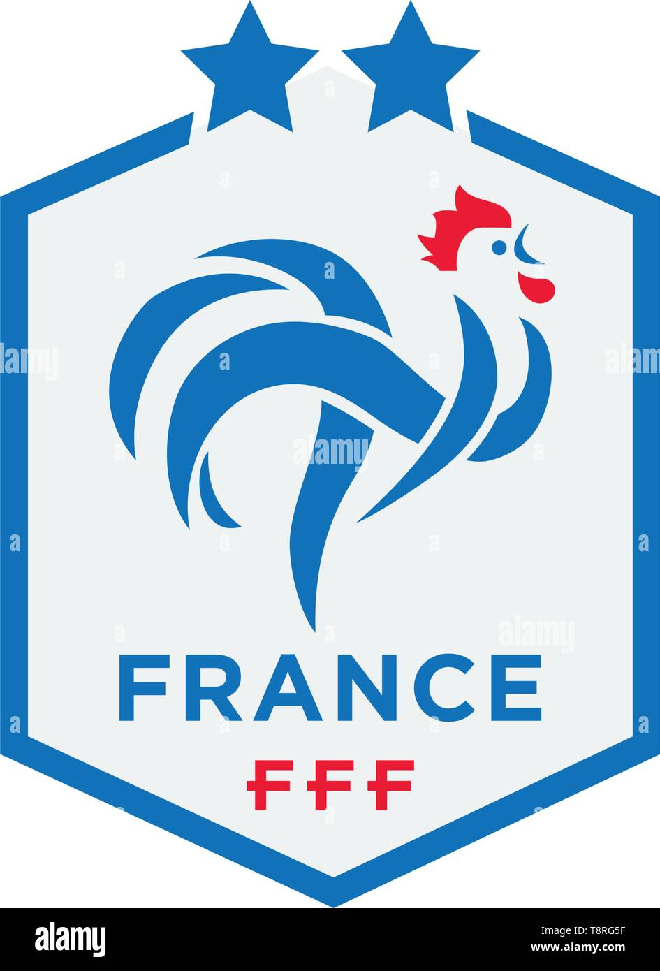 ea8489ee8 official logo of france football federation vector illustration icon element