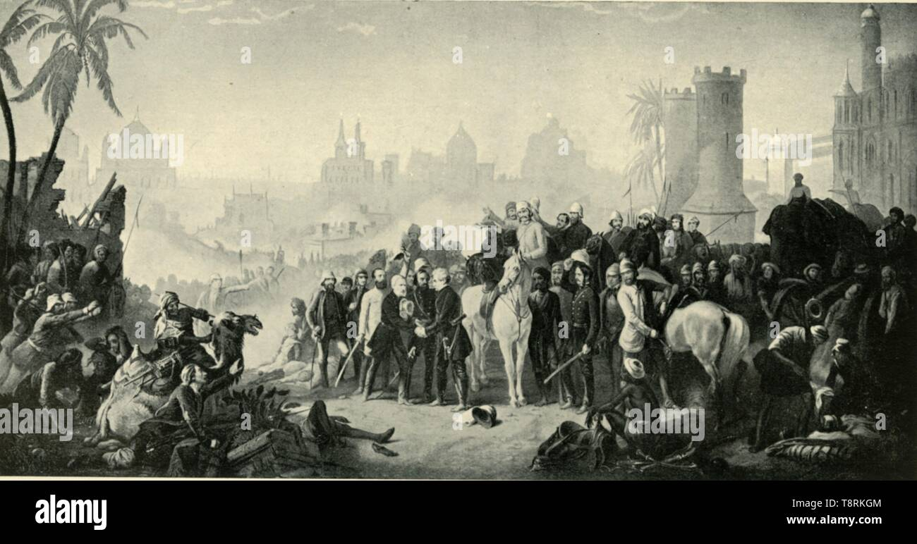 'The Relief of Lucknow...November 1857', (1901).  Creator: Unknown. - Stock Image