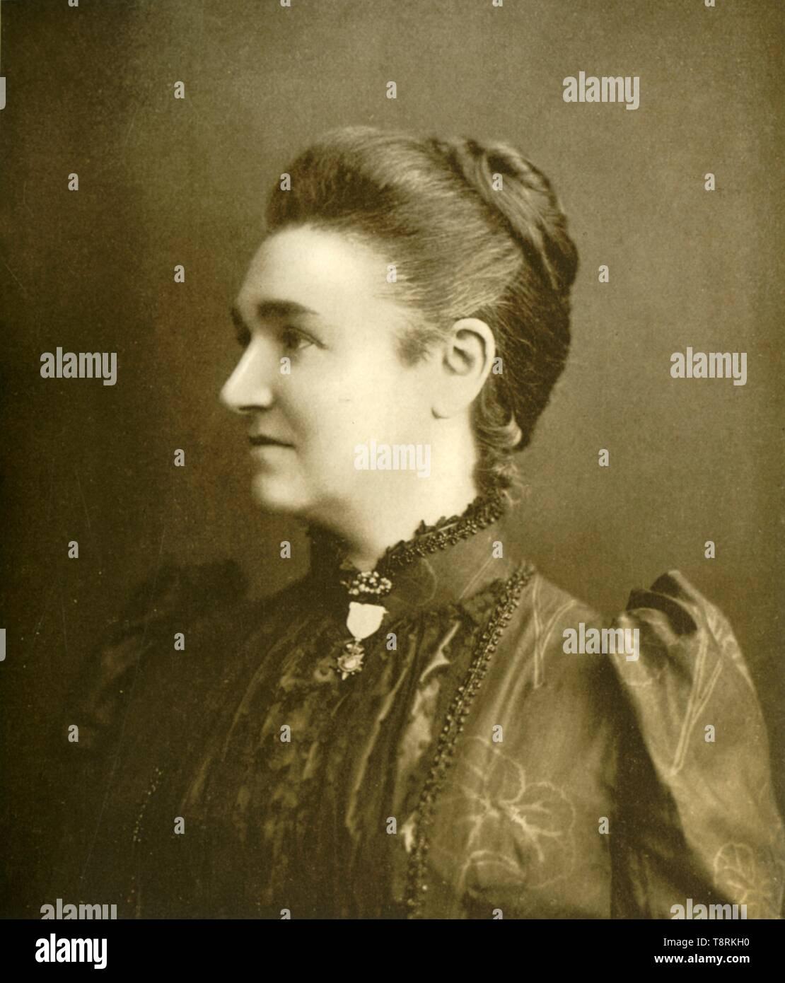 'Lady Roberts of Kandahar', c1889, (1901). Creator: Johnston & Hoffmann. - Stock Image