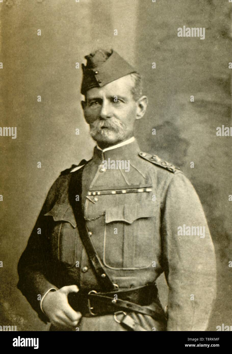 'General Sir F. S. Roberts, Bart. (Dress during the Burmah Expedition)', c1890s, (1901).  Creator: Bourne & Shepherd. - Stock Image