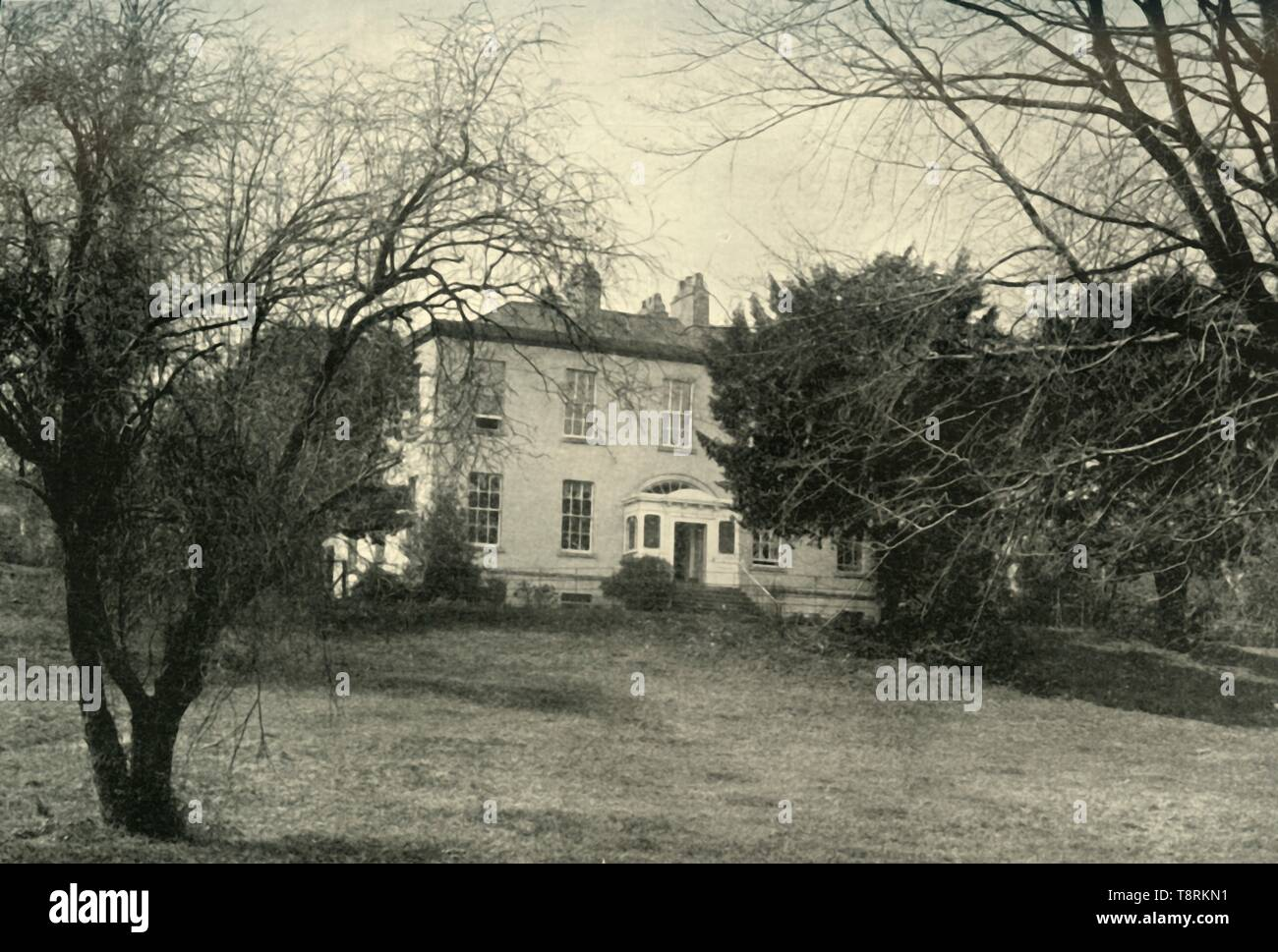 'Newtown House, Waterford', 1901. Creator: A H Poole. - Stock Image
