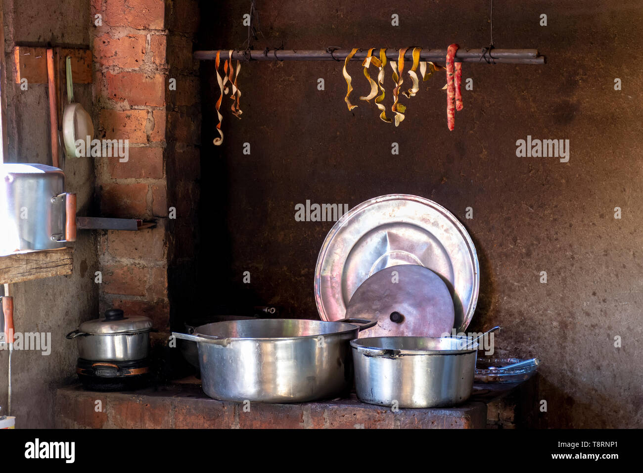 Old popular brazilian kitchen and utensil - Stock Image