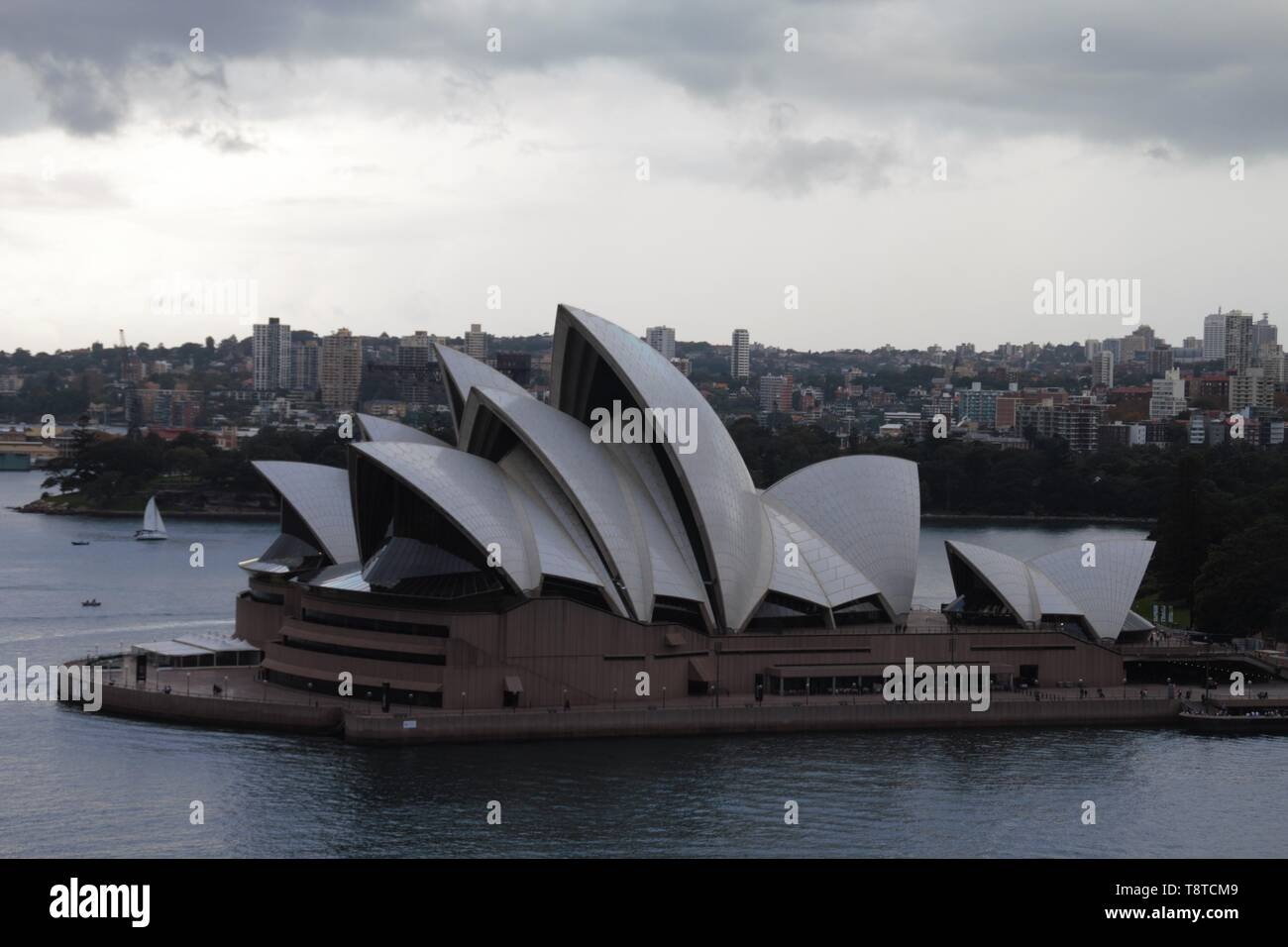 Sydney opera house always offers the best panorama view in town - Stock Image