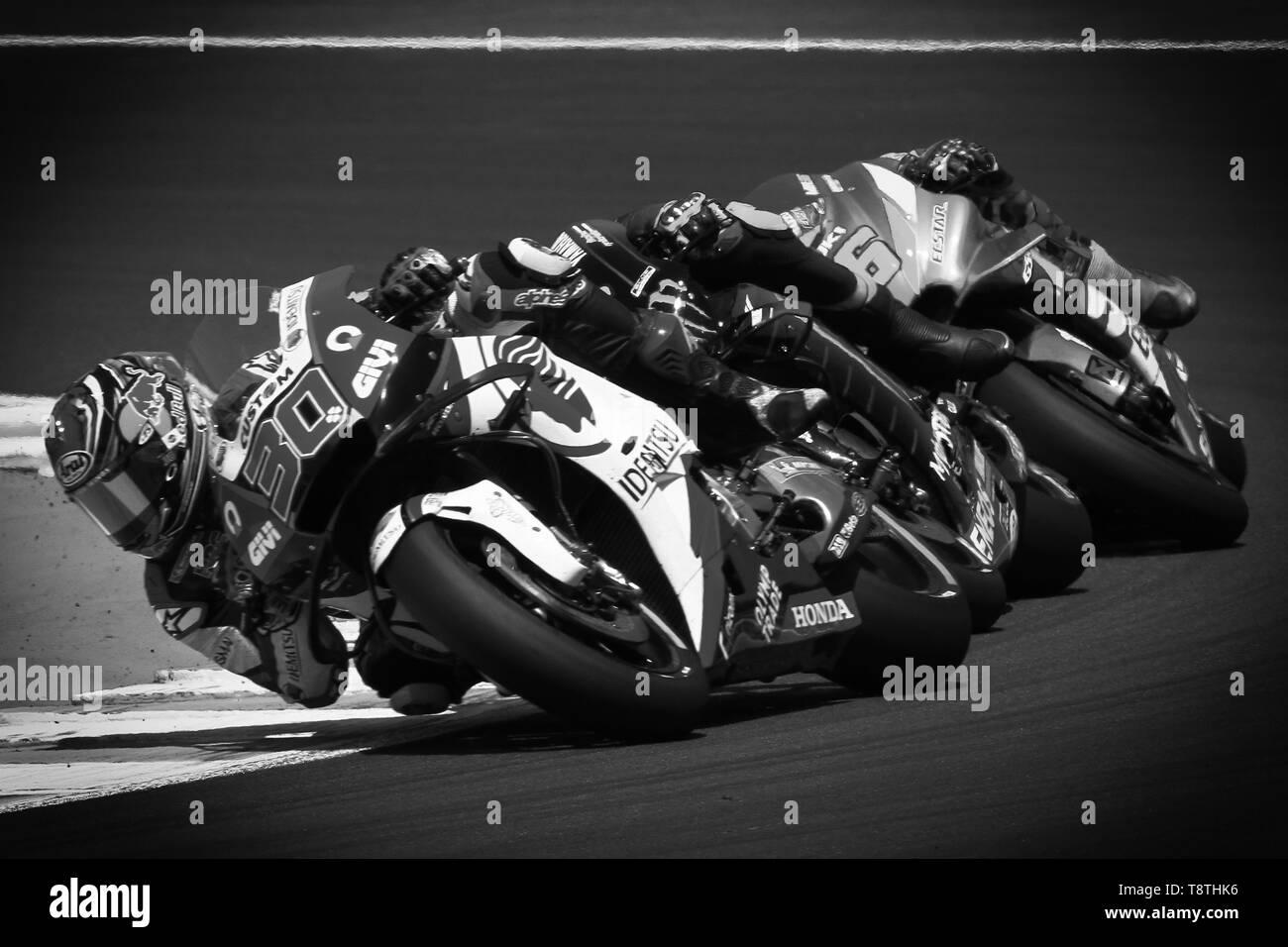 Sunday race, MotoGP Spain round Stock Photo