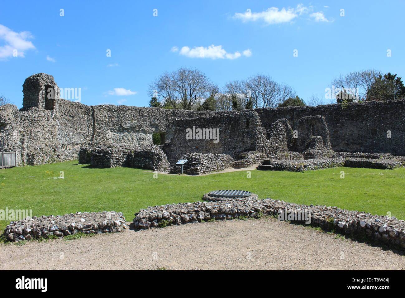 Eynsford castle #5 - Stock Image