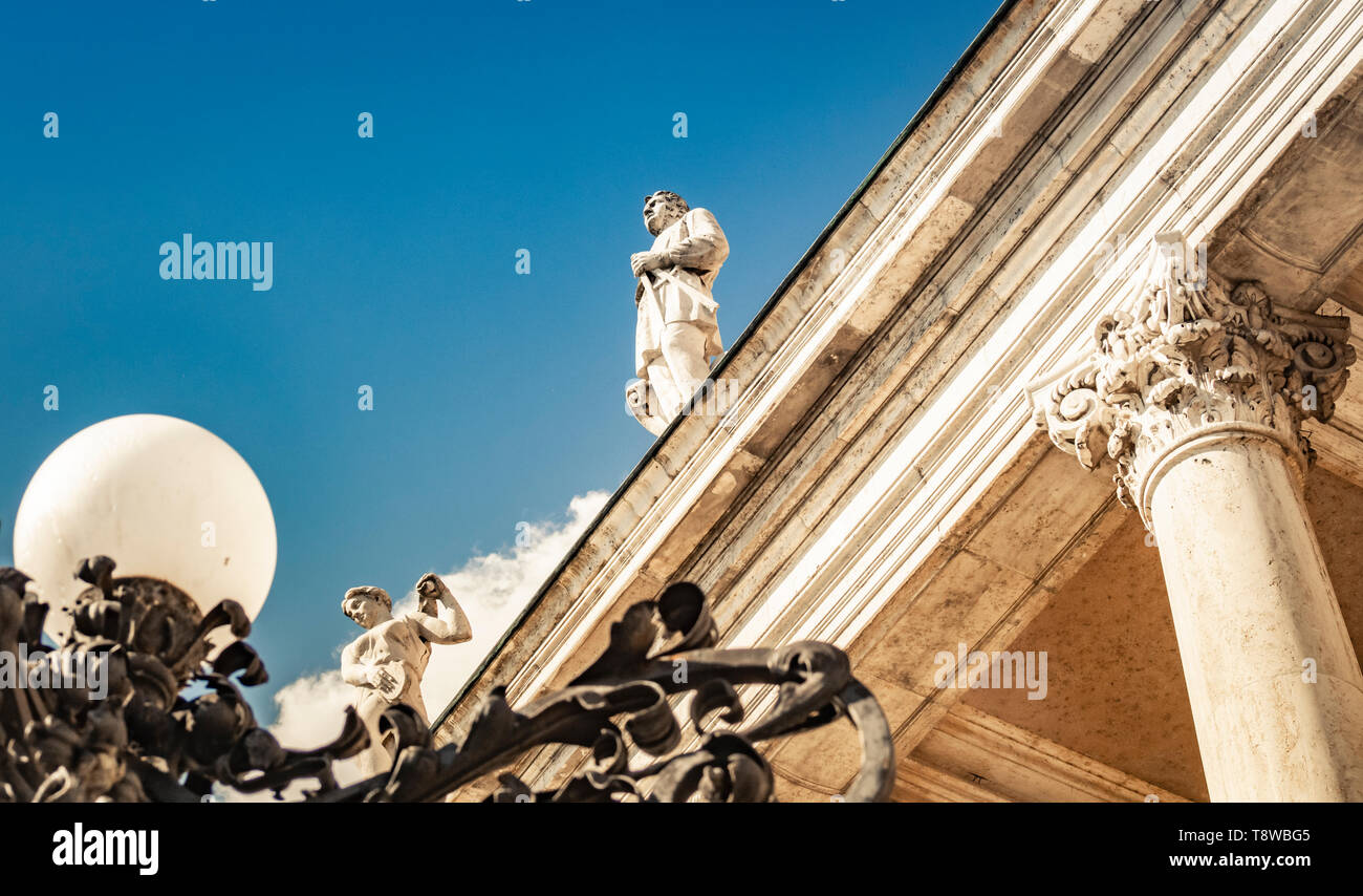 Buda Castle in Budapest, Hungary Stock Photo