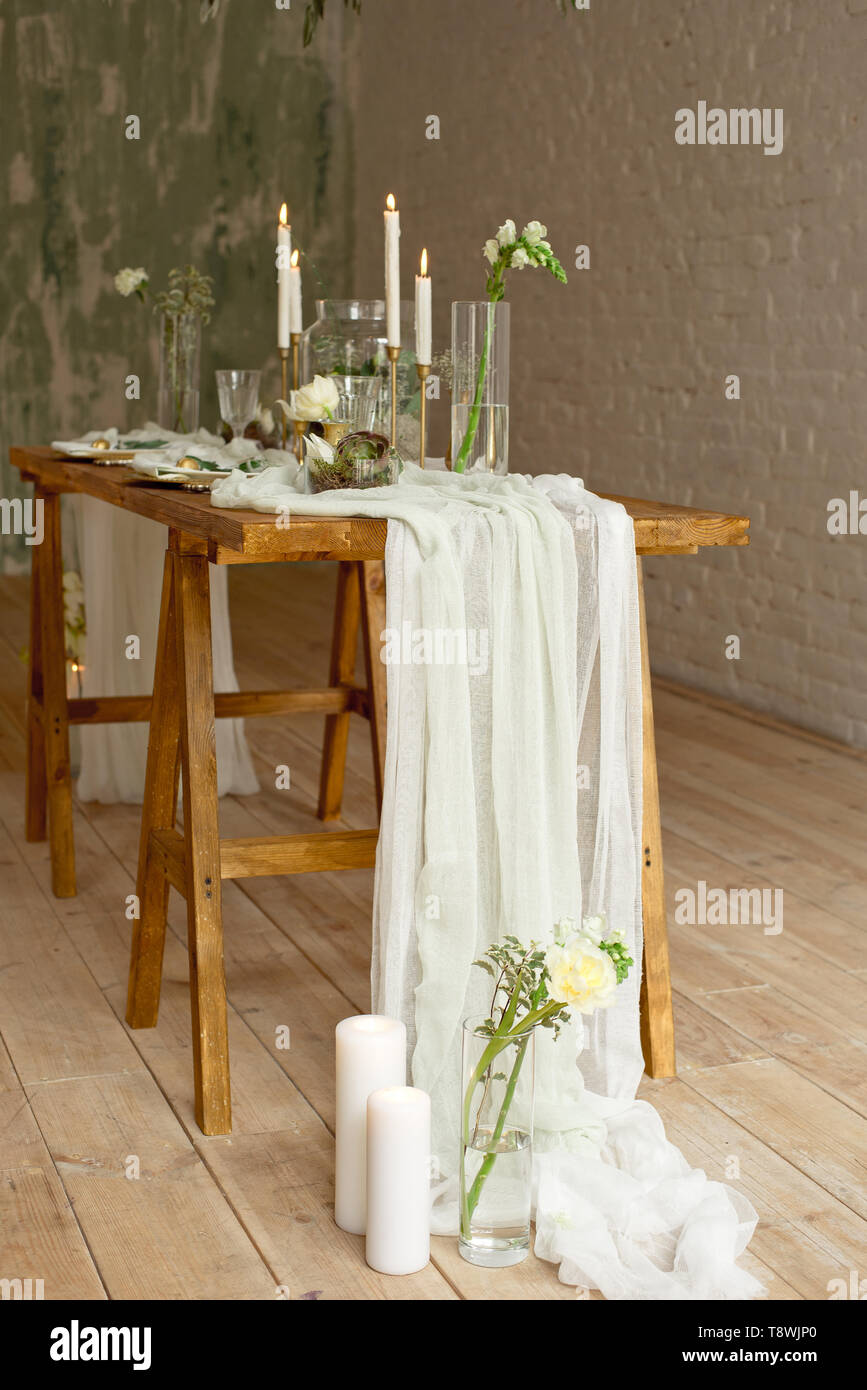 Boho Wedding Table Setting Rustic Decorations Gold And
