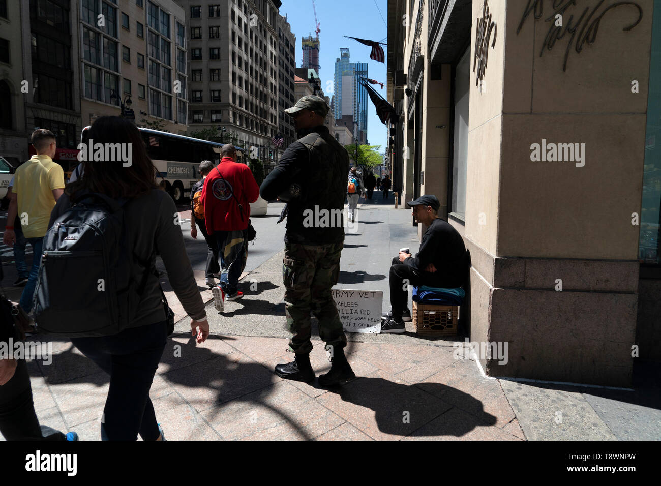 NEW YORK, USA - MAY 6 2019 - Regularly referred to as the