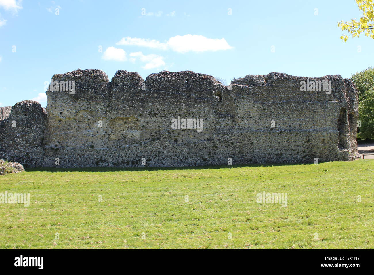 Eynsford castle #6 - Stock Image