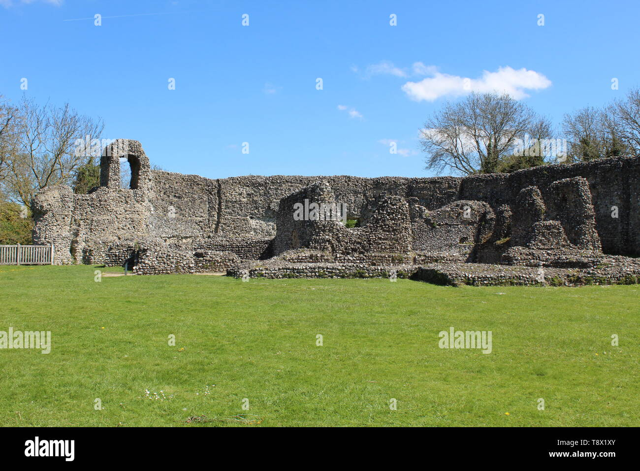 Eynsford castle #9 - Stock Image