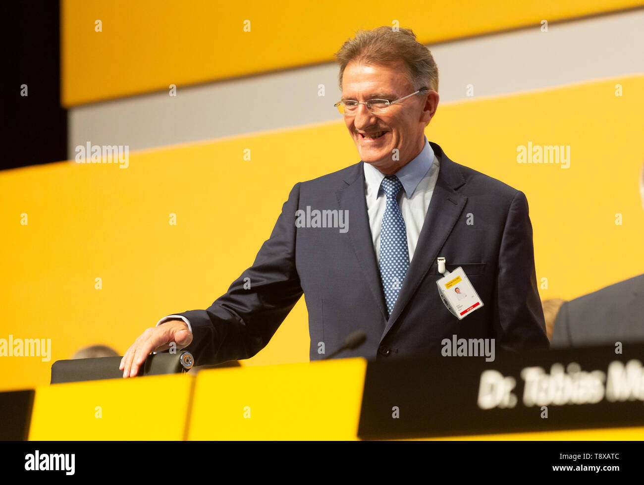 Bonn, Deutschland. 15th May, 2019. Germany, Bonn, May 5 2019, Deutsche Post DHL Annual General Meeting: Member of the executive board Ken Allen. Credit: Juergen Schwarz/Alamy Live News - Stock Image