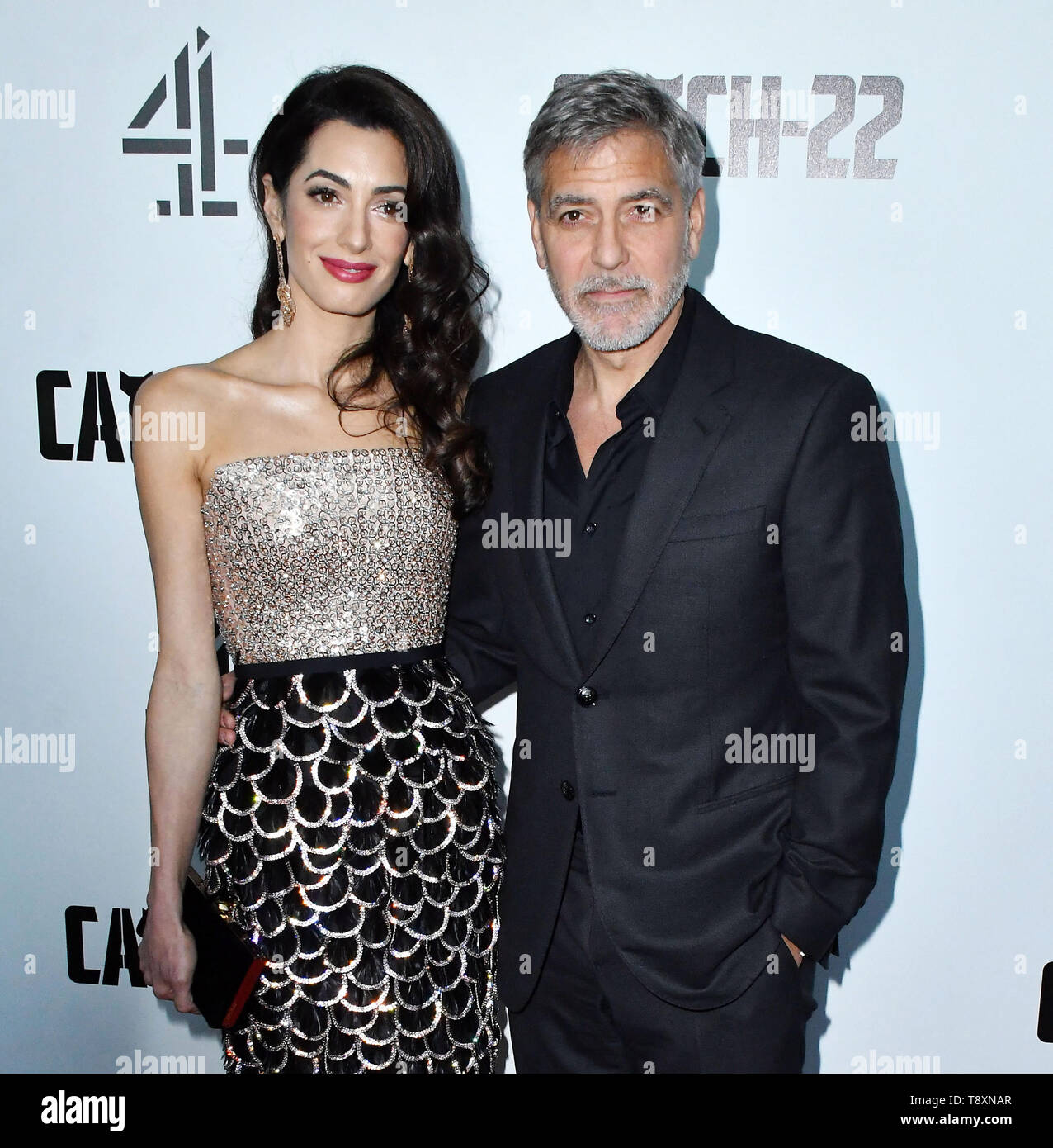 London, UK  15th May, 2019  Amal Clooney, George Clooney attend