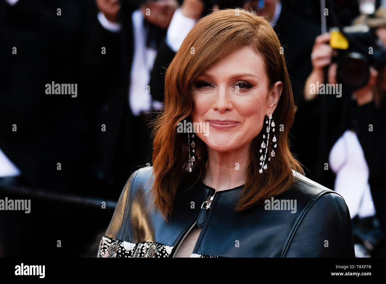 Cannes France 15th May 2019 Julianne Moore Poses On The