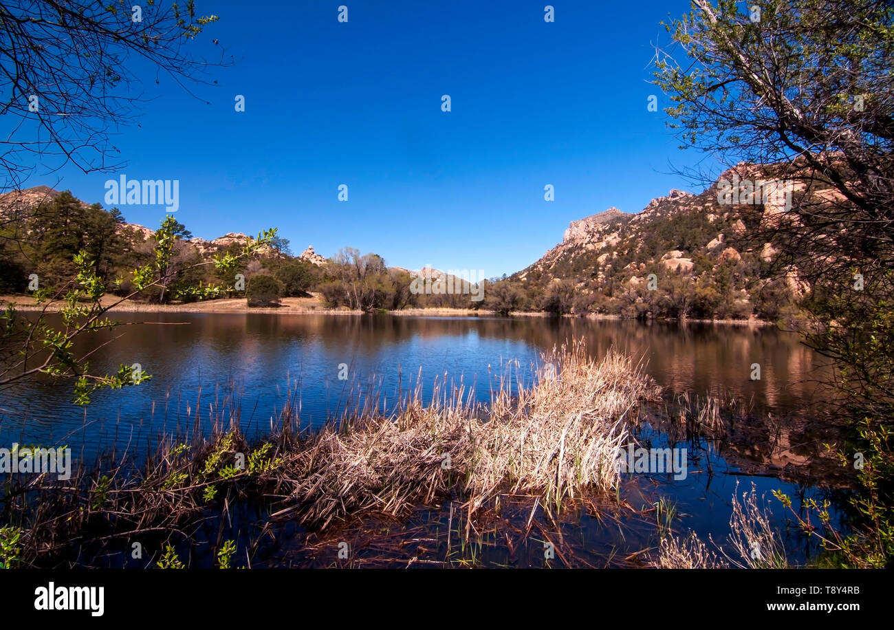 Granite Basin Lake Az.Granite Mountain Arizona Stock Photos Granite Mountain Arizona