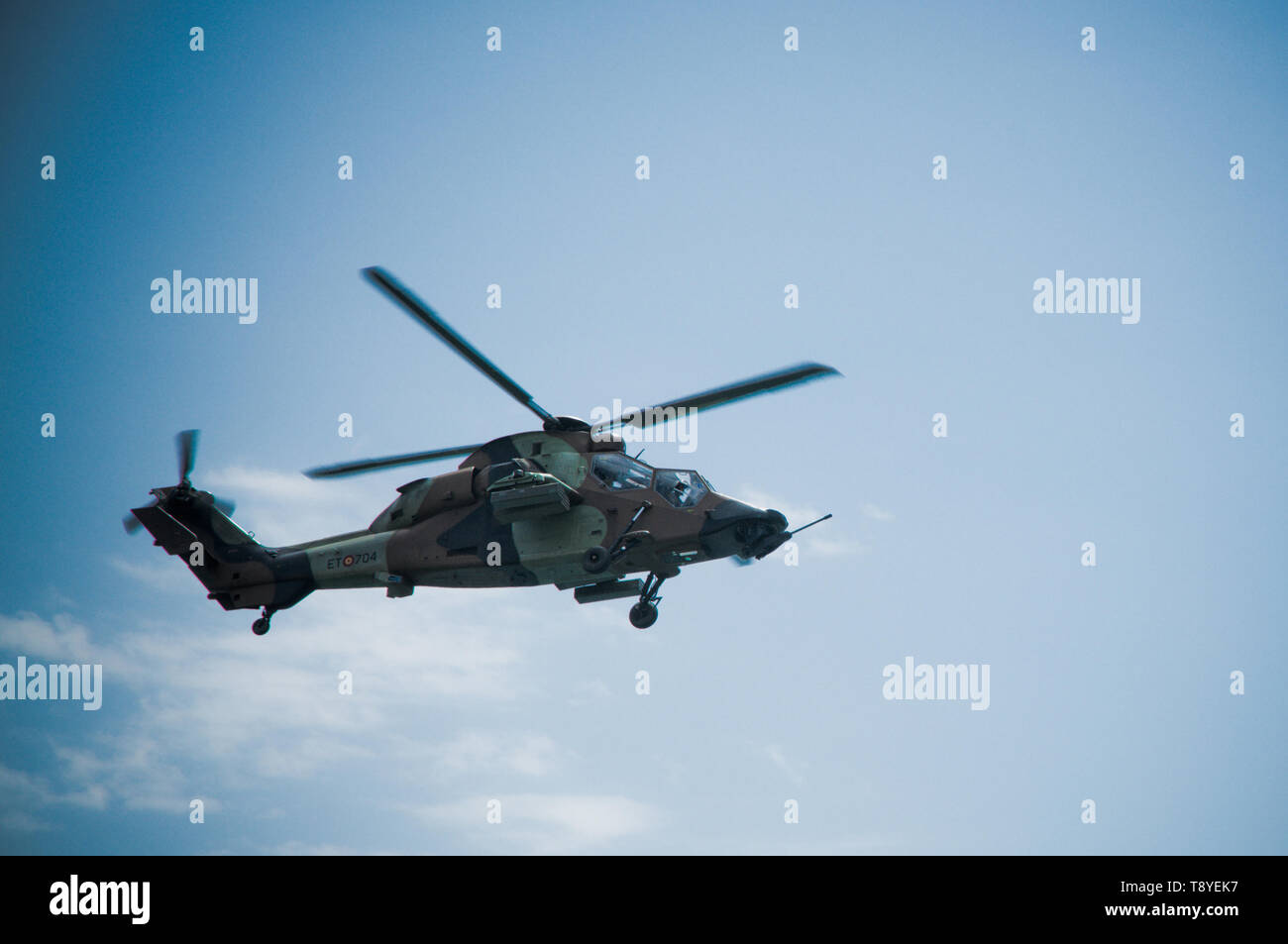Military Helicopter: Eurocopter - Stock Image