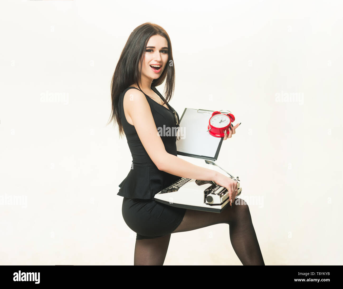 Lady Comp: Teacher Discipline Student Stock Photos & Teacher