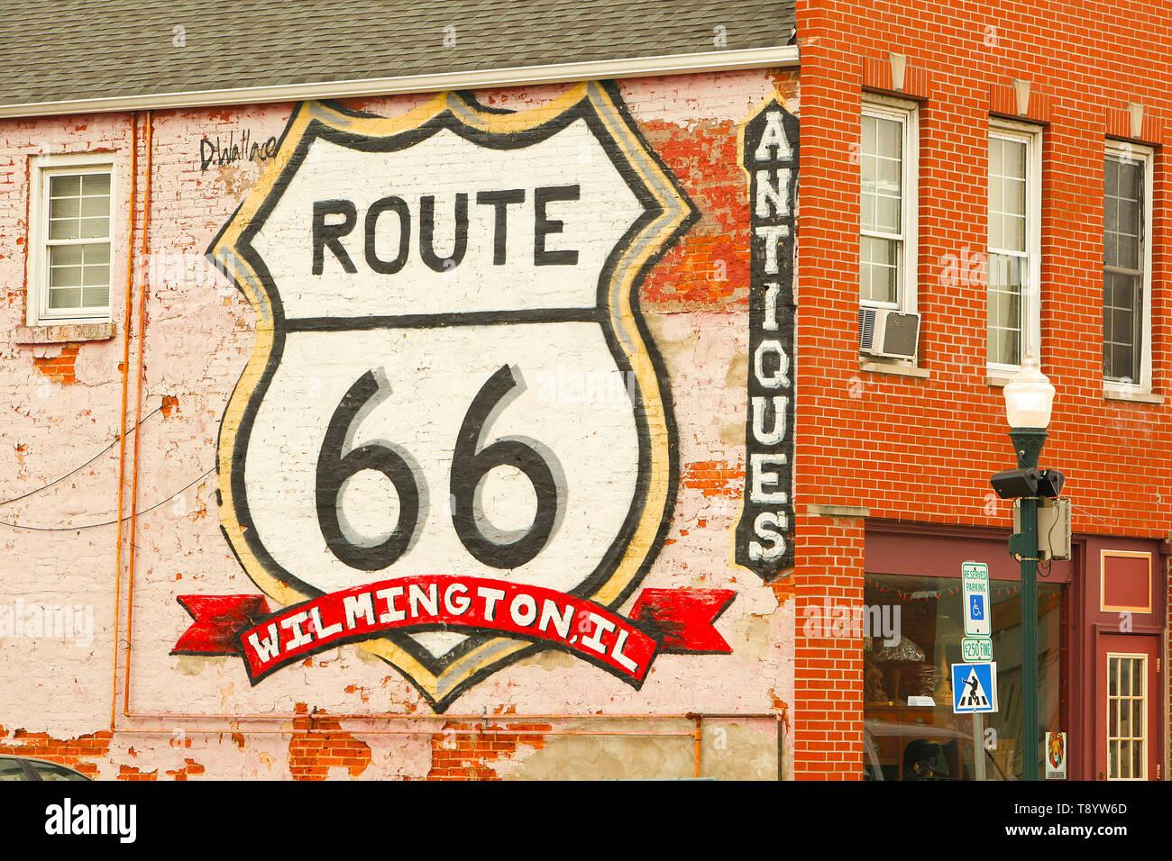 Route 66 Roadside Attraction Stock Photo