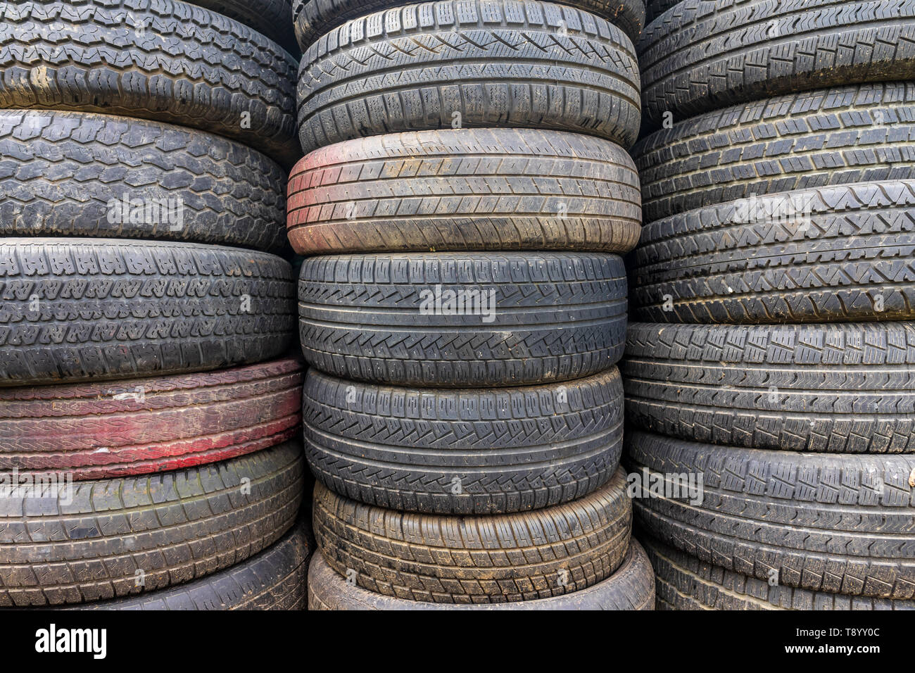 Used Car Tires >> Old And Used Car Tires Background Stock Photo 246476284