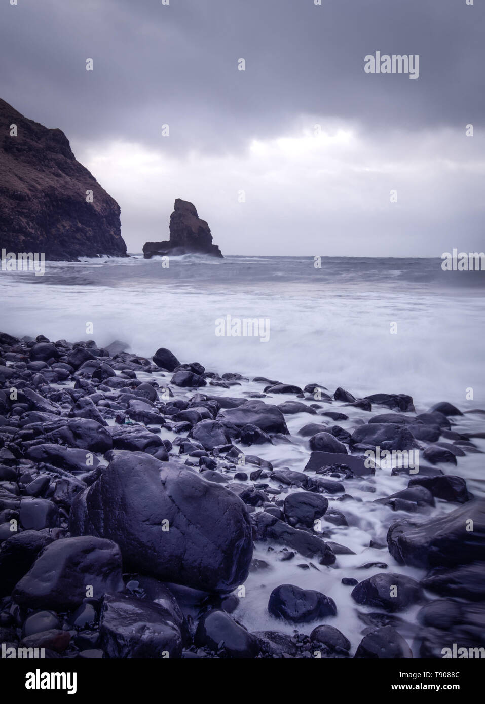 Talisker Bay, Isle of Skye, Scotland - Stock Image