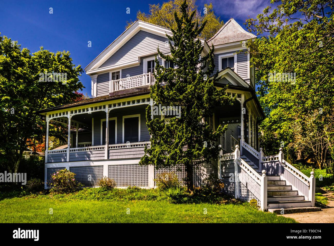 Monte Cristo Cottage _  New London, Connecticut, USA - Stock Image