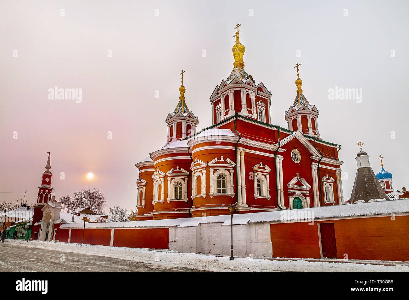 Holy cross Cathedral. Kolomna. Russia. Stock Photo