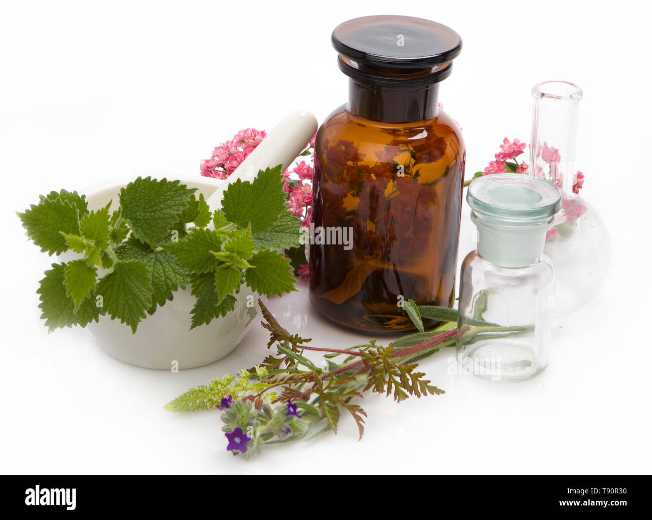 Herbal Medicines Stock Photos & Herbal Medicines Stock Images - Alamy