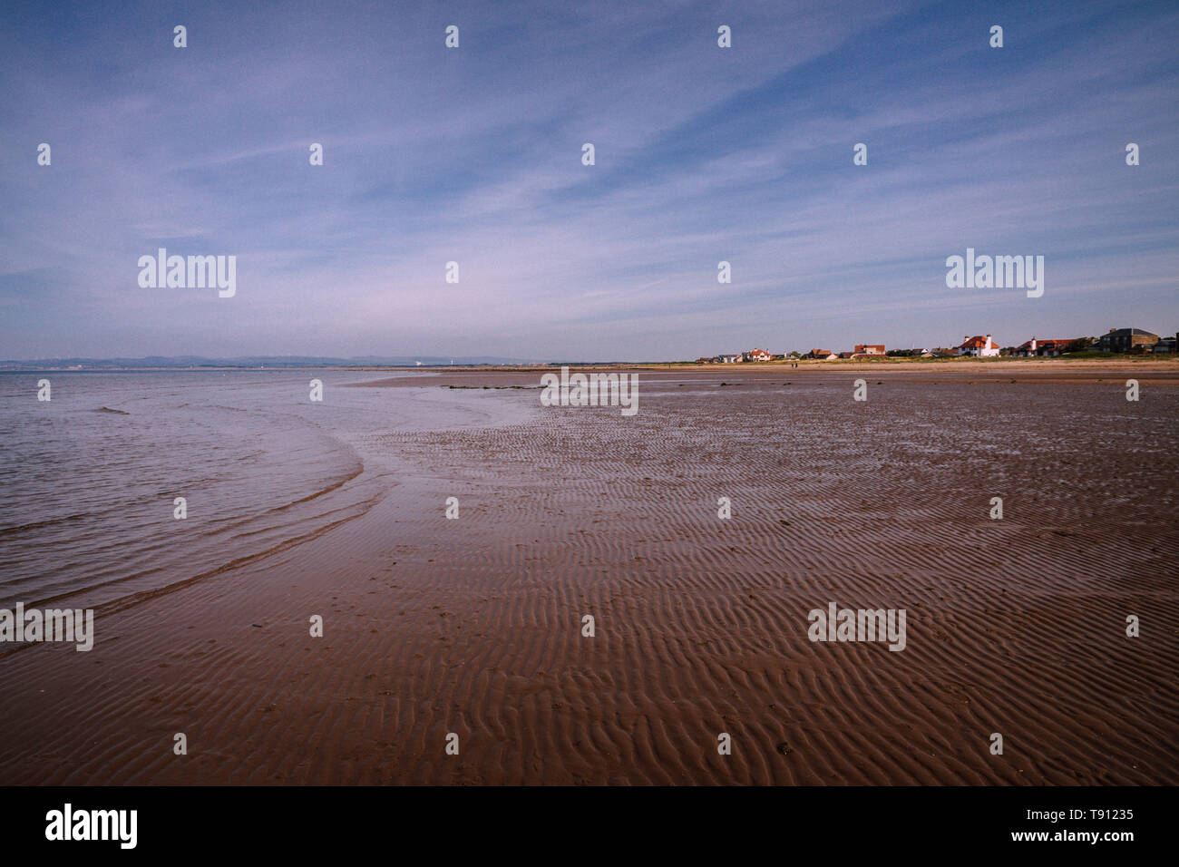 Barassie to Troon West of Scotland Coast line 1 - Stock Image