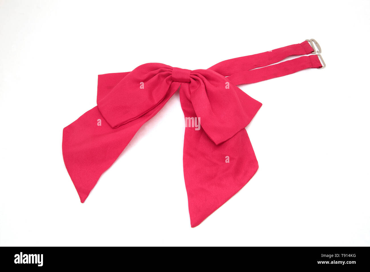 Red Bow Tie - Stock Image