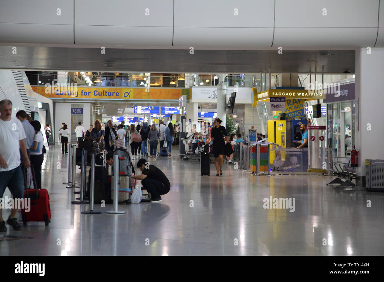 Athens Greece Athens Airport - Stock Image