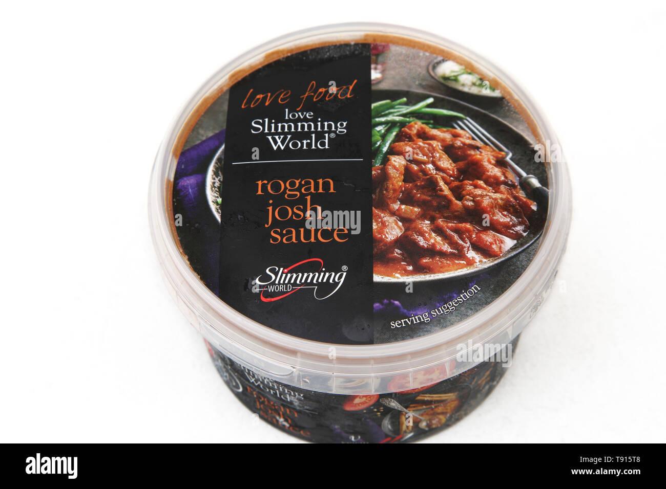 Slimming World Vegan Curry Rogan Josh Sauce - Stock Image