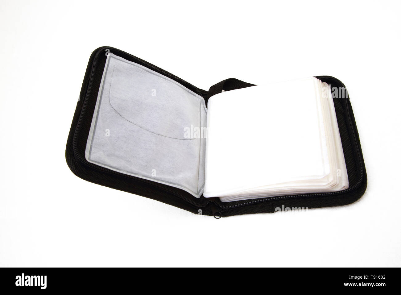A Compact disc Case - Stock Image