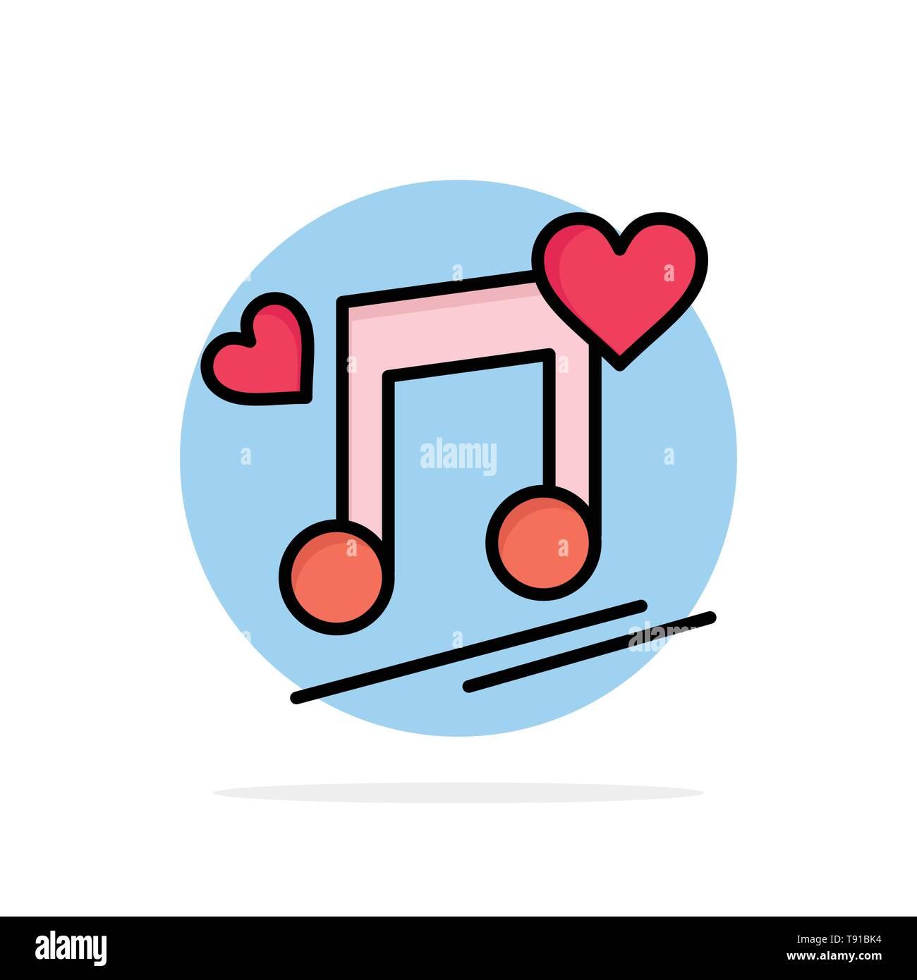 Music Node, Node, Lyrics, Love, Song Abstract Circle