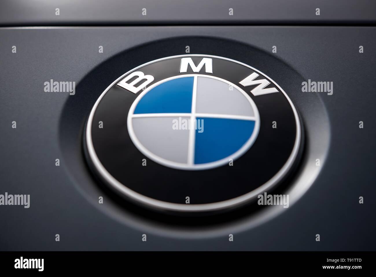 Munich Germany 16th May 2019 The Logo Of The Munich Car