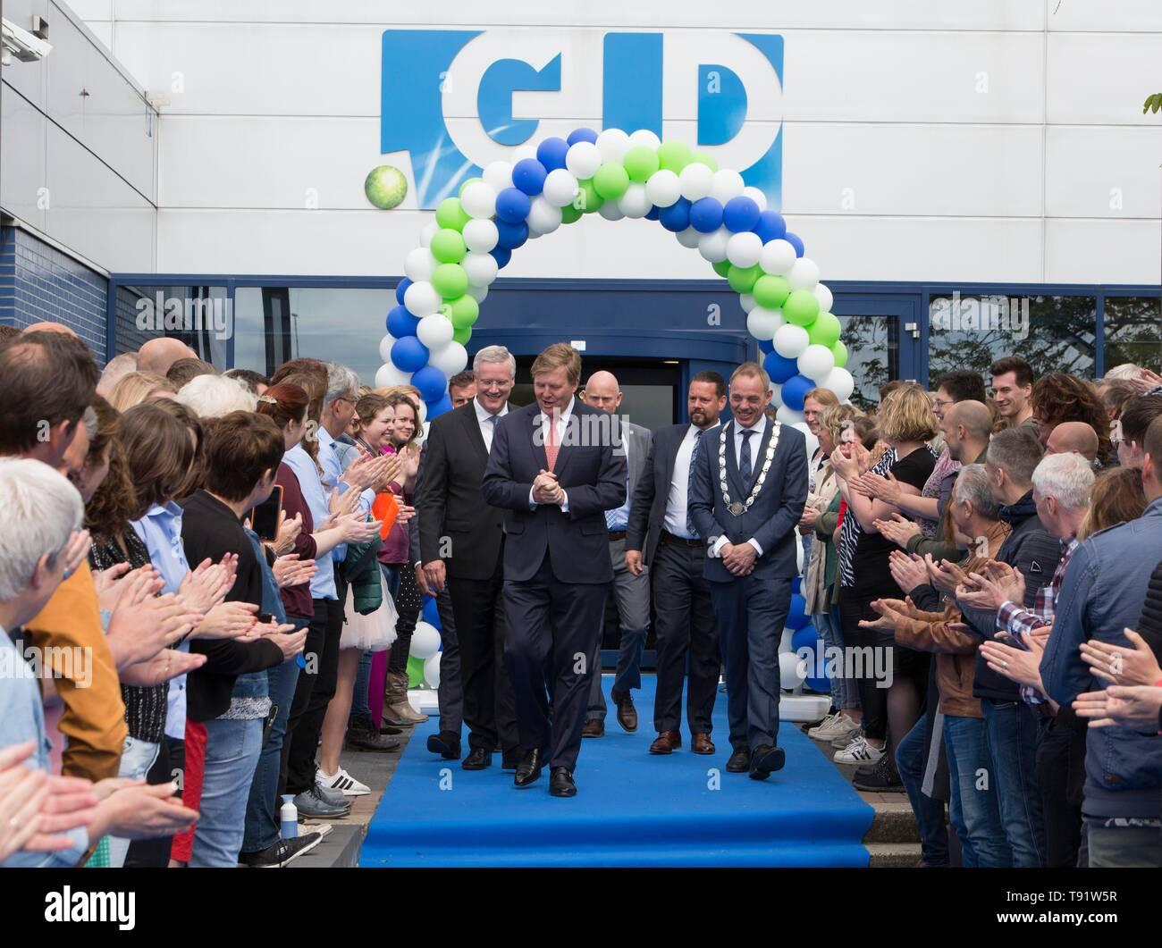Deventer, Netherlands  16th May, 2019  King Willem-Alexander