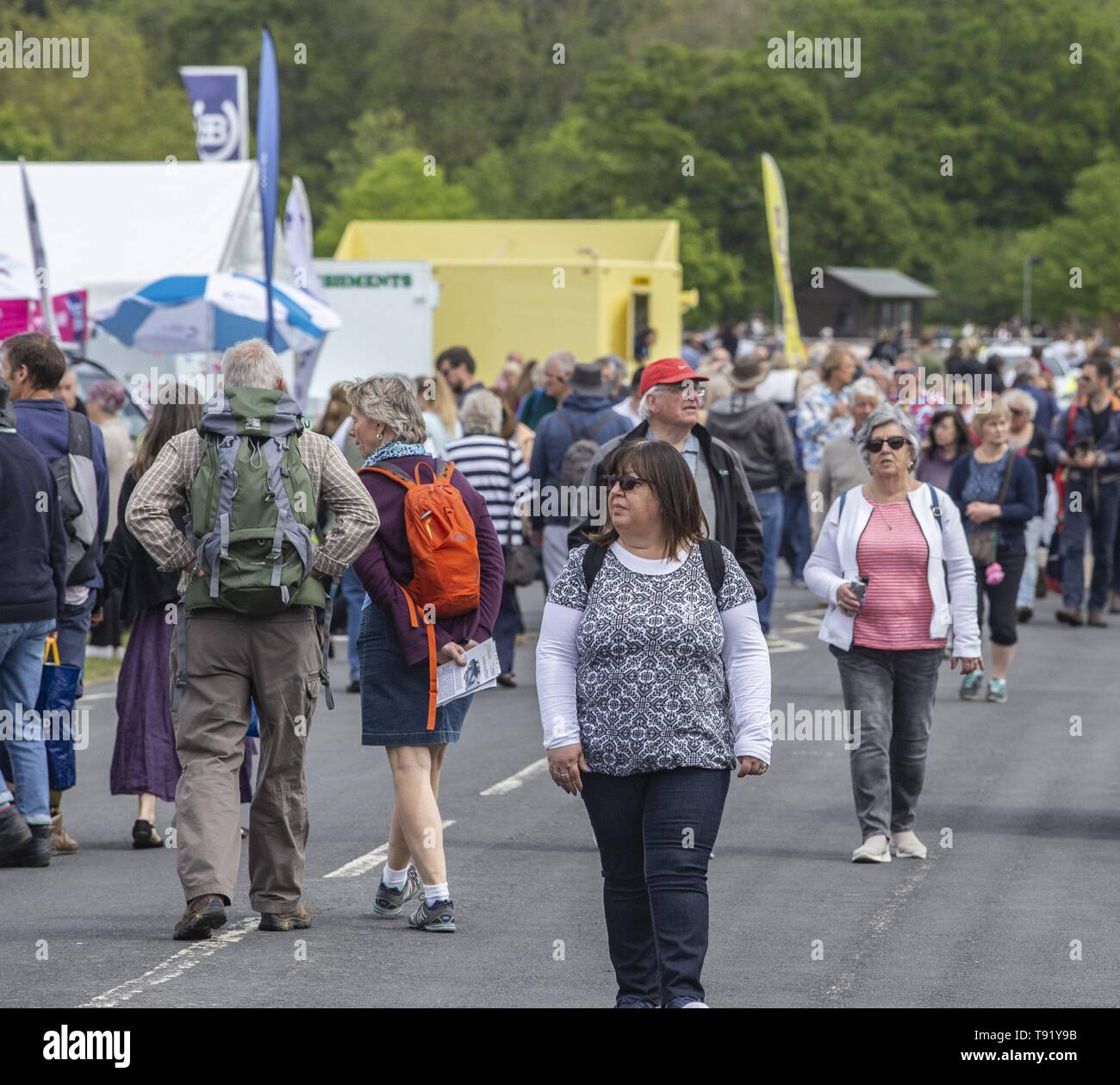Exeter, Devon, UK. 16th May 2019 Crowds in their thousands on the first day of the Devon County Show, at the Westpoint Showground, Exeter Credit: Photo Central/Alamy Live News Stock Photo