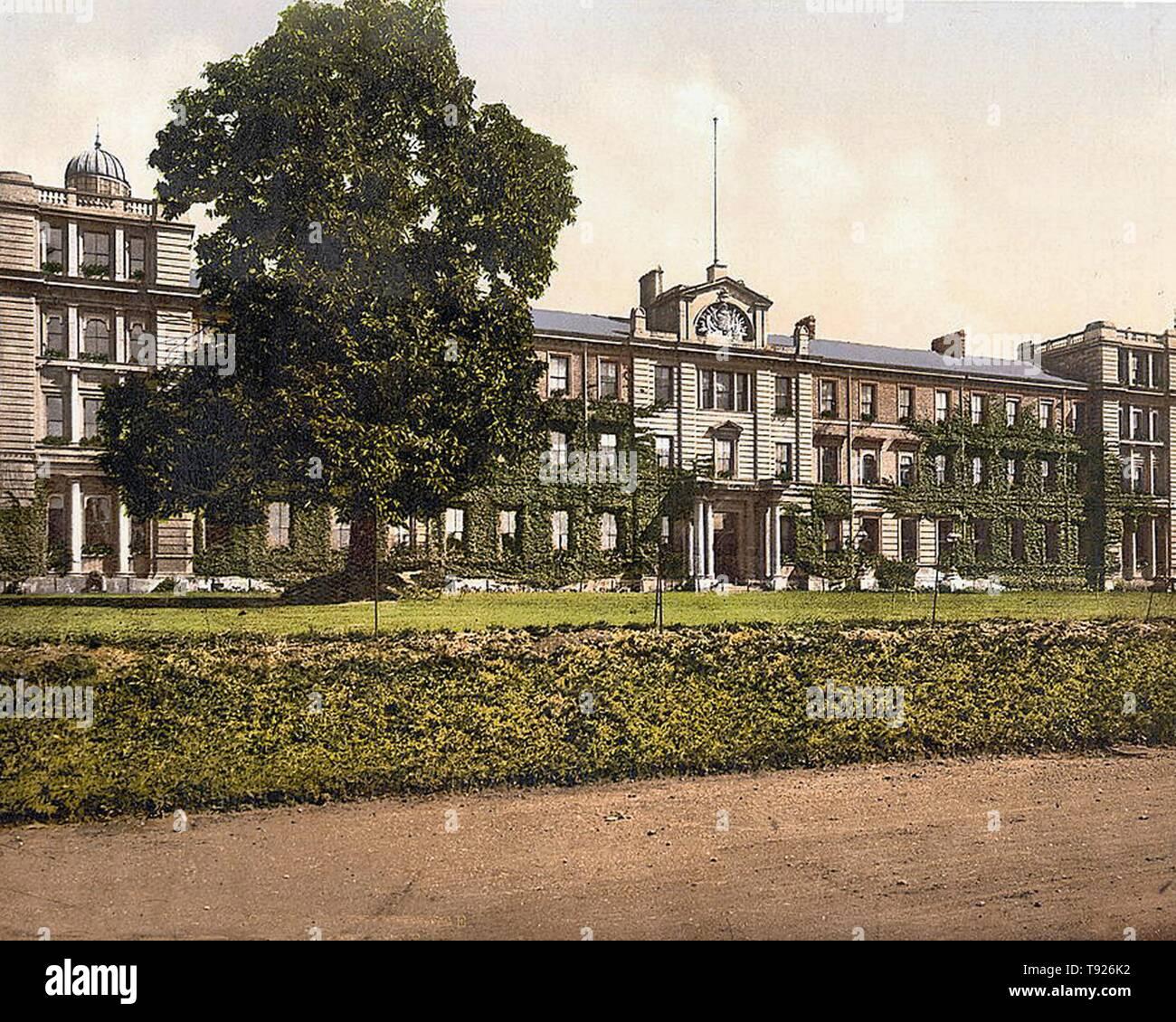 Royal Staff College, Camberley, Surrey, England. Stock Photo