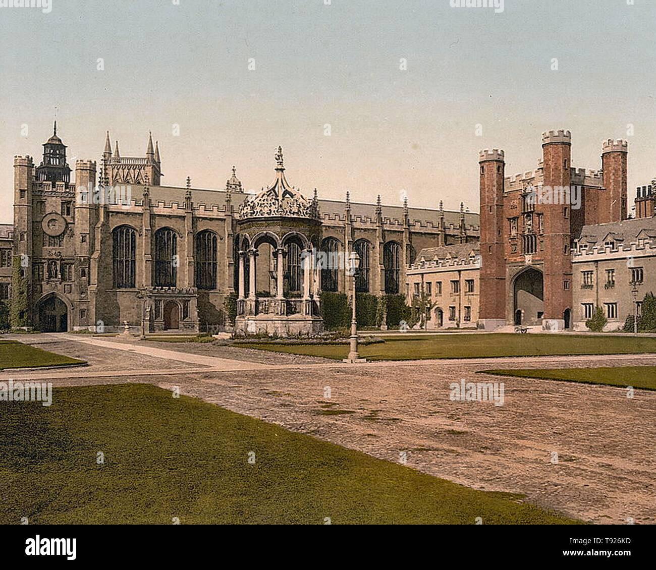 Trinity College, Cambridge, Cambridgeshire, England. Stock Photo