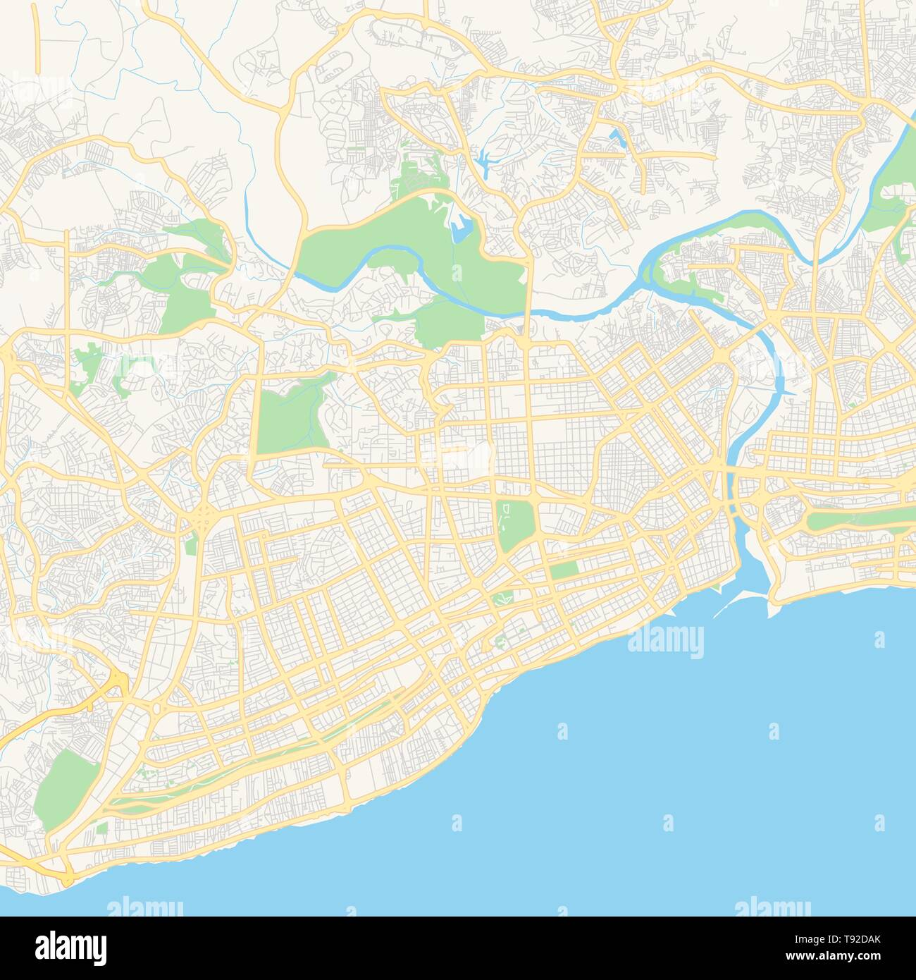 Empty vector map of Santo Domingo, Distrito Nacional ... on lyon world map, quito on world map, guayaquil world map, jeddah world map, managua on world map, brindisi world map, mazatlan world map, guatemala city world map, piraeus world map, strait of hormuz on world map, aqaba world map, izmir world map, yaounde world map, hispaniola world map, manhattan world map, surabaya world map, kingstown world map, bari world map, dominican republic world map, new spain world map,