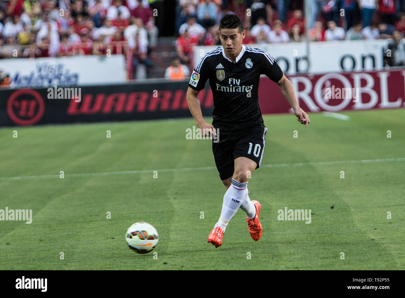 fa1a74a71e6 James Rodriguez of Real Madrid in action during the match of La Liga BBVA  between Sevilla