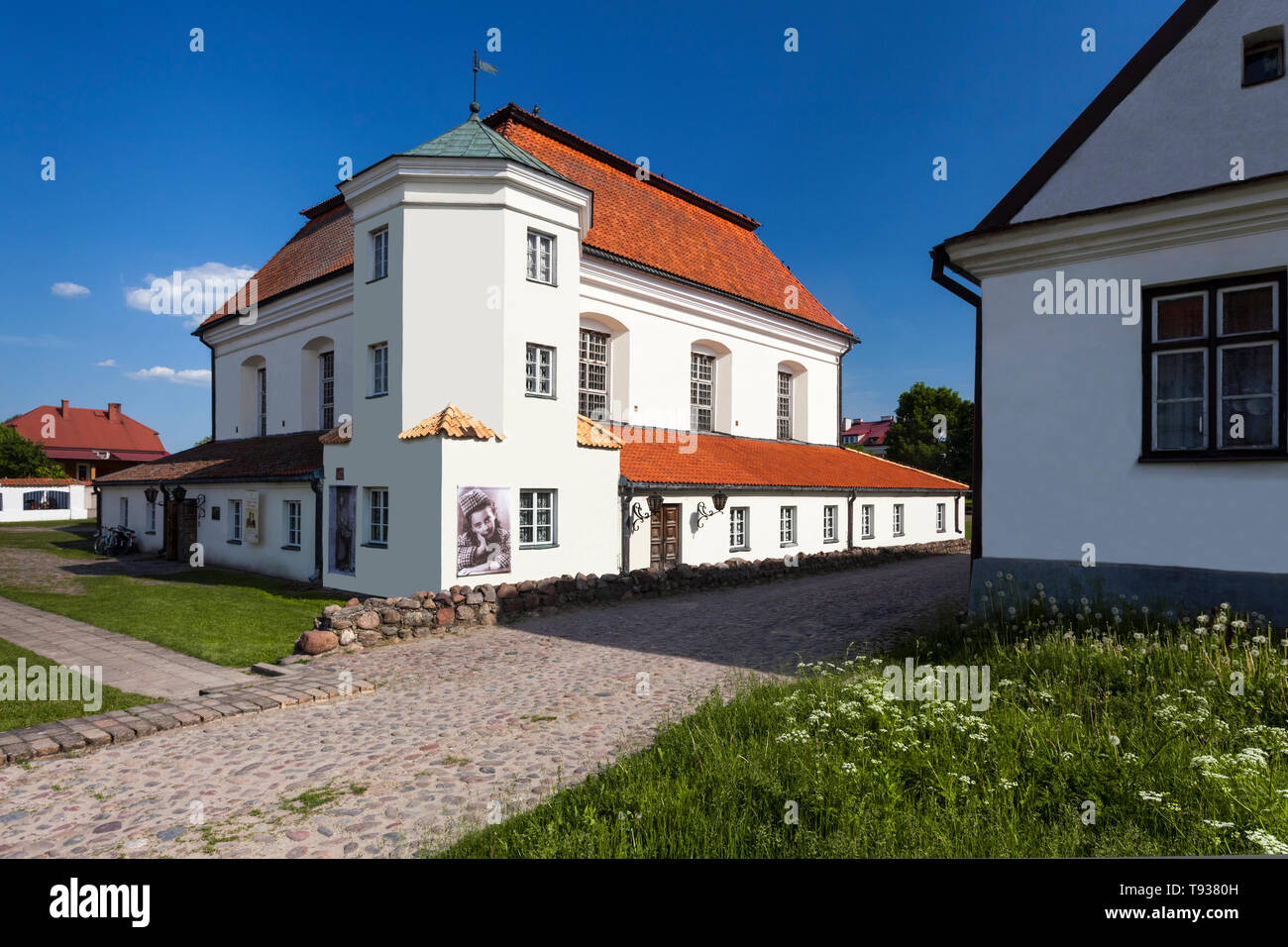 Synagogue in Tykocin, Museum of Jewish Culture, Podlasie, Poland - Stock Image